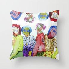 Ladies, Ladies Throw Pillow