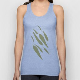 Gum Leaves Unisex Tank Top