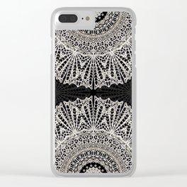 Mandala Mehndi Style G384 Clear iPhone Case