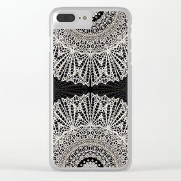 Mandala Mehndi Style G384 Clear iPhone Case