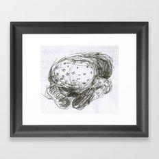 Bum Framed Art Print