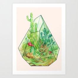 DeserTerrarium Art Print