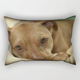 I am thinkin' Rectangular Pillow