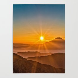 The Southern Alps Poster