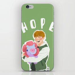 Jhope and Mang iPhone Skin