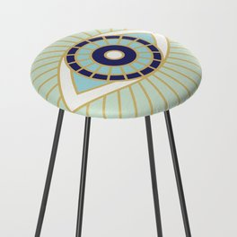Evil Eye Collection Counter Stool