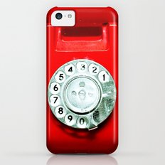 OLD PHONE - RED EDITION - for iphone Slim Case iPhone 5c