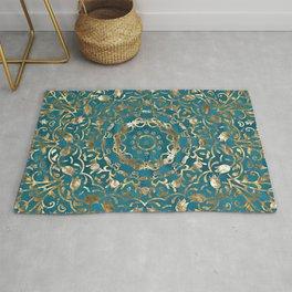 Moroccan Style Mandala Rug