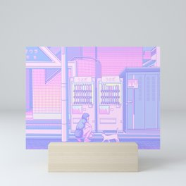 Vending Machines Mini Art Print