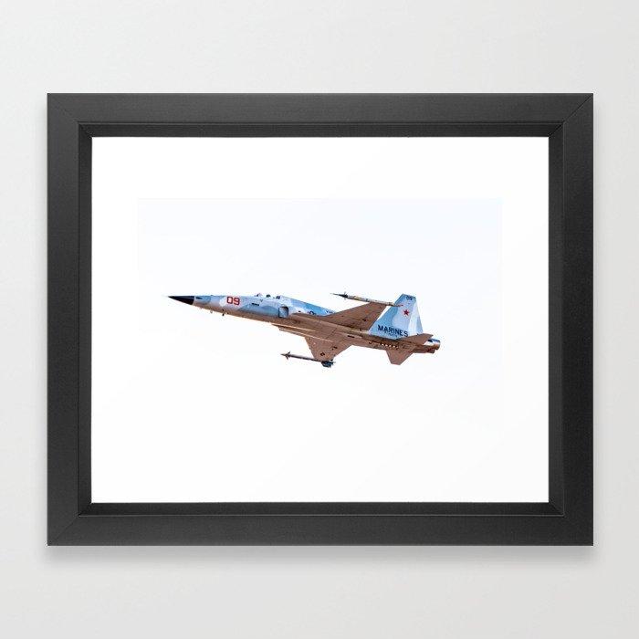 F-5E Adversary USMC MCAS YUMA Framed Art Print