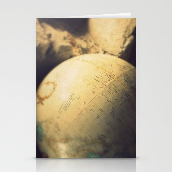 If I Could Travel The World Stationery Cards