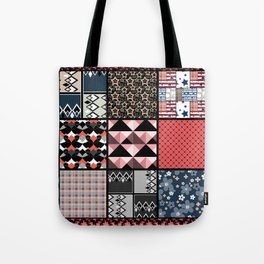 Favorite blanket and pillows . Patchwork 1 Tote Bag