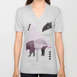 tapirism one Unisex V-Neck