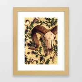 Endemic/Invasive Framed Art Print