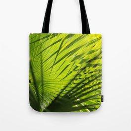 Palm Pattern Tote Bag