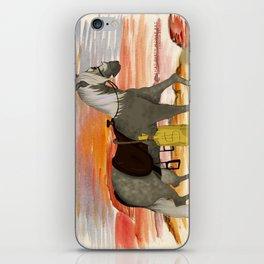 SenditBack - Greyfox's horse iPhone Skin