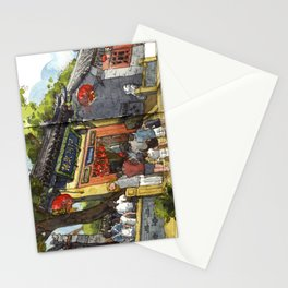 Chinese Temple in Qingdao Stationery Cards