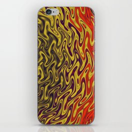 Ripples in Indian Summer iPhone Skin