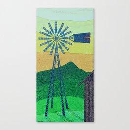 down on the farm Canvas Print