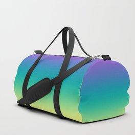 Northern lights #Ombre #gradient Duffle Bag
