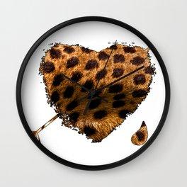 CHEETING HEART Wall Clock