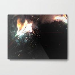 A Light in the Dark Metal Print