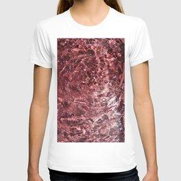 Cotton candy art T-shirt
