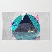 minimalism Area & Throw Rugs featuring Minimalism 10 by Mareike Böhmer