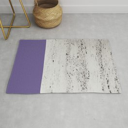 Ultra Violet on Concrete #3 #decor #art #society6 Rug