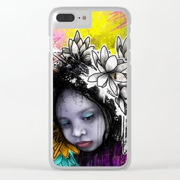 Emotional Chaos Clear iPhone Case