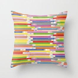 Draw Everyday Throw Pillow