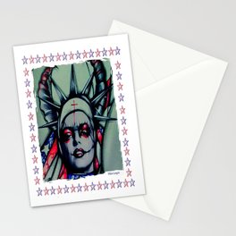 Sister Liberty Stationery Cards
