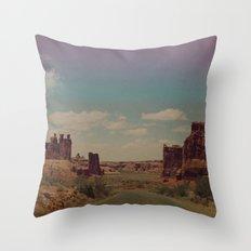 Utah Exploring Throw Pillow