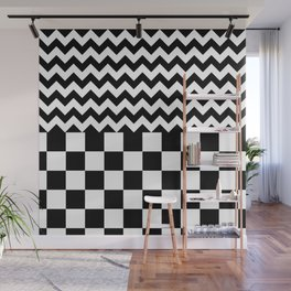 FAVORITES (BLACK-WHITE) Wall Mural
