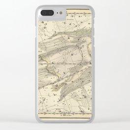 Alexander Jamieson - Celestial Atlas 1822 Plate 18 Virgo Clear iPhone Case