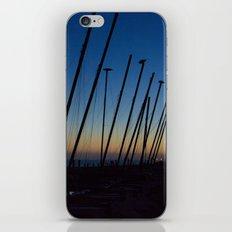 Boats in The Night iPhone & iPod Skin
