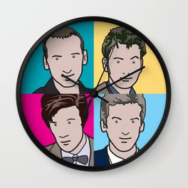 Doctors 9 to 12 Wall Clock