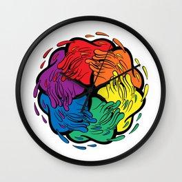Pride Love Movement Wall Clock