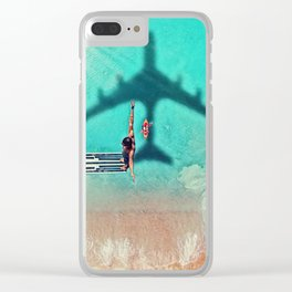 The Big Dive by GEN Z Clear iPhone Case