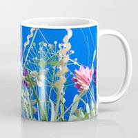 clover Mugs featuring clover by peopletoo