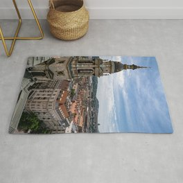 Budapest's Bell Tower Rug