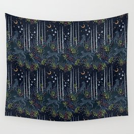 Midnight Exploration Wall Tapestry