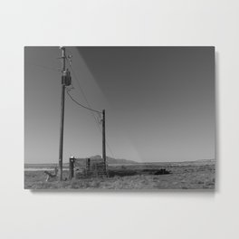Lonesome Metal Print