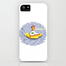 Yellow Submarine iPhone (5, 5s) Slim Case