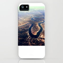 Colorado River west of Austin. iPhone Case