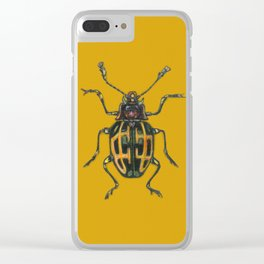 Scarabee carotte Clear iPhone Case