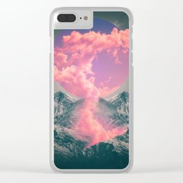 Ruptured Soul  Clear iPhone Case