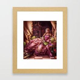Madame de Hyrule Framed Art Print