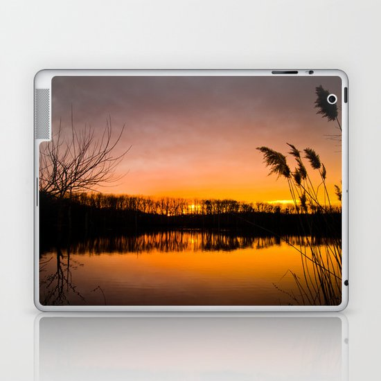 Manasquan Sunset Laptop & iPad Skin