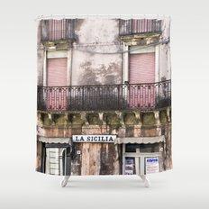 SICILIAN FACADE - Italy Shower Curtain